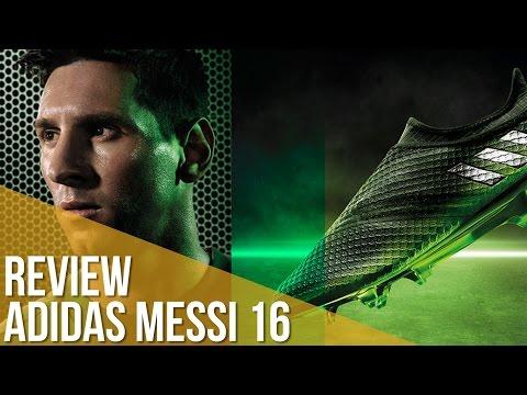 Review adidas Messi 16 / Las nuevas botas de Leo Messi