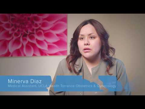 Minerva Diaz  UCLA Health Employee Spotlight