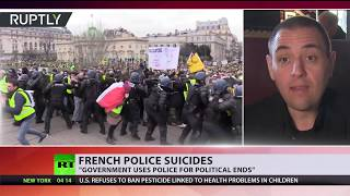 French police suicides on rise as months of Yellow Vest protests take toll