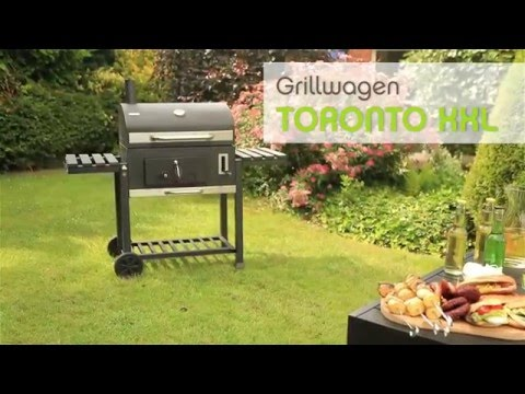 tepro grillwagen toronto xxl youtube. Black Bedroom Furniture Sets. Home Design Ideas