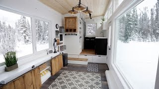 Open Concept Modern Tiny House with Elevator Bed #anawhite