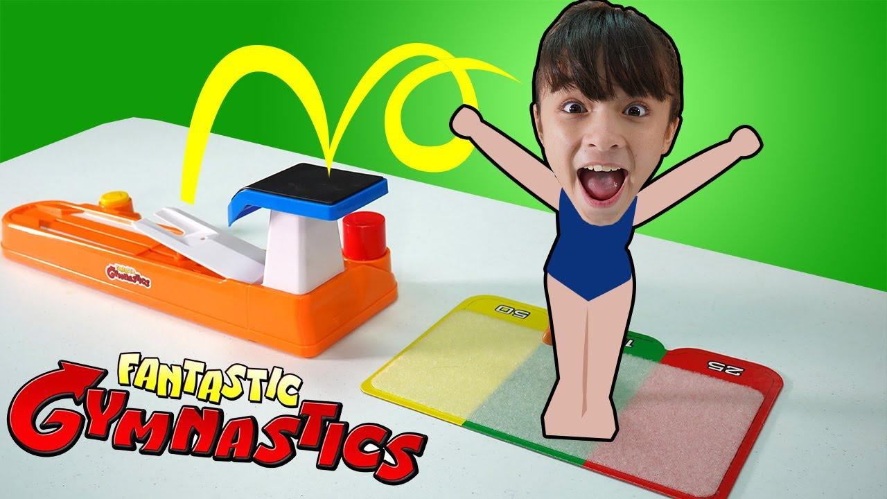 บรีแอนน่า | ท่าแปลก ยิมนาสติก ชาเลนจ์ เกมส์สุดมันส์ | Fantastic Gymnastics Game