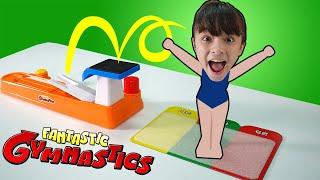 บรีแอนน่า   ท่าแปลก ยิมนาสติก ชาเลนจ์ เกมส์สุดมันส์   Fantastic Gymnastics Game