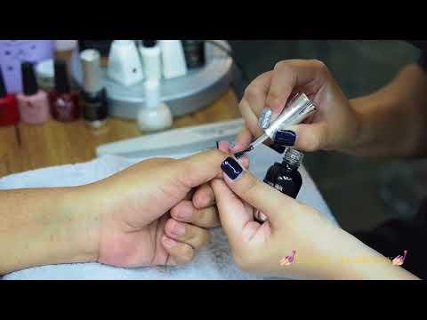 วิธีทาสีเจลให้ติดทนนาน สอนทำเล็บเชียงใหม่ Enjoy Nails spa&salon