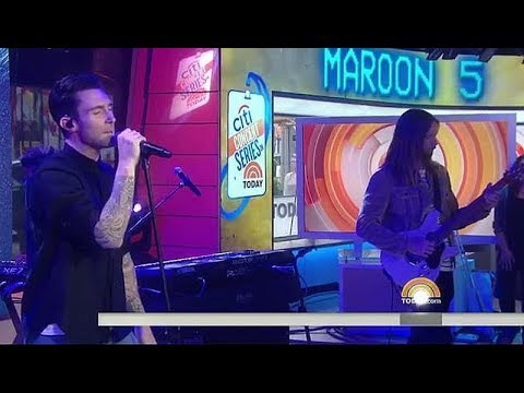 Maroon 5 - What Lovers Do live Today Show