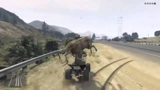 GTA V ROADKILL COMPILATION!