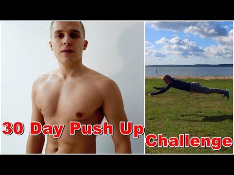 30 Day Push UP CHALLENGE / Epic Transformation SUPERMAN
