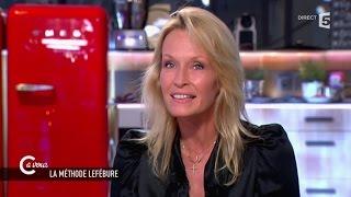 Estelle Lefébure, sa méthode bien être - C à vous - 26/03/2015