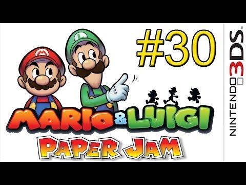 Mario & Luigi Paper Jam {3DS} часть 30 — Приключения Луиджи