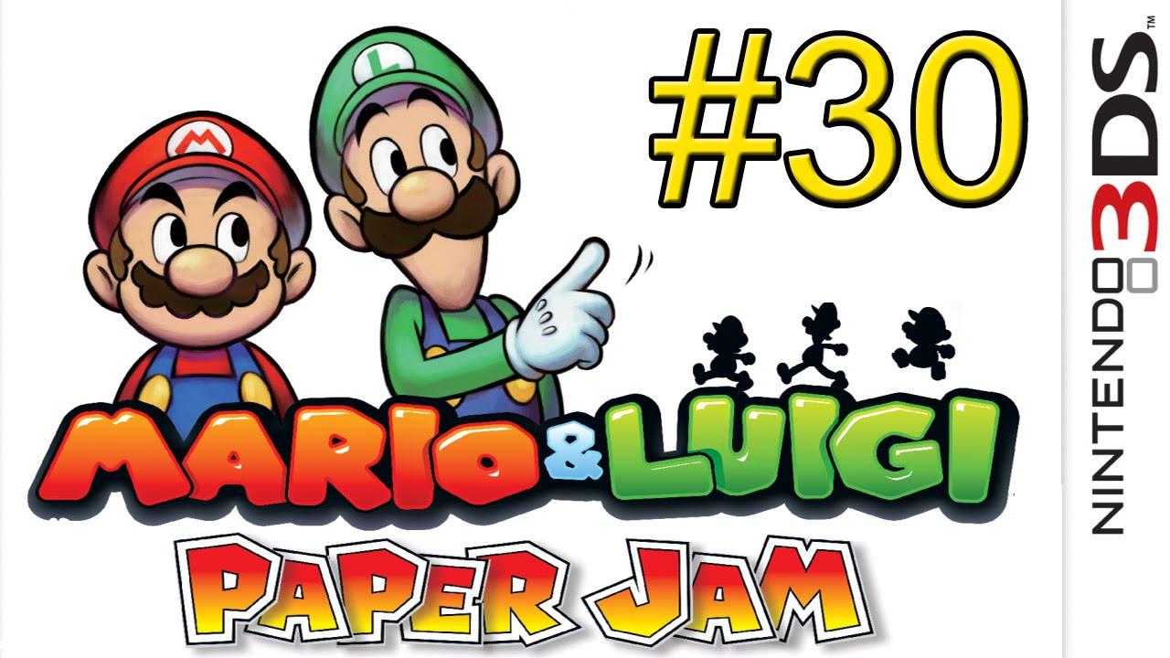 Mario & Luigi Paper Jam 3DS часть 30 Приключения | играть онлайн супер марио путешествие на драк