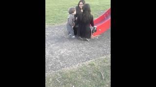 Билал в парке