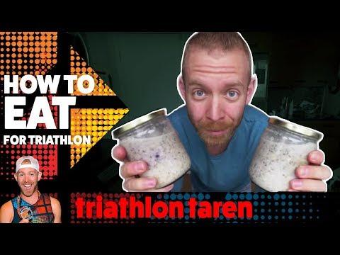 TRIATHLON DIET: Daily triathlon training diet