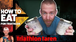 TRIATHLON DIET: Daily triathlon training diet