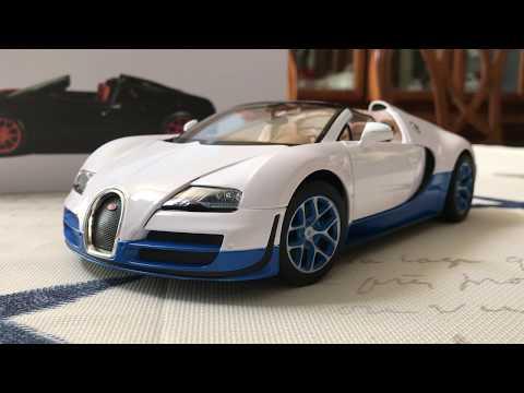 Review of Bugatti Veyron Grand Sport Vitesse by Rastar (Scale 1/18)
