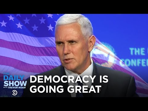 American Democracy Is Going Great | The Daily Show