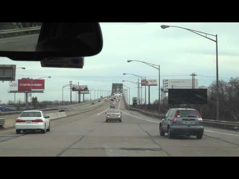Going over the Delaware Turnpike-Toll Bridge (I-276)