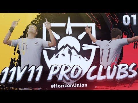 FIFA 19 Pro Clubs | 11v11 - VPG Premier League | Ep1