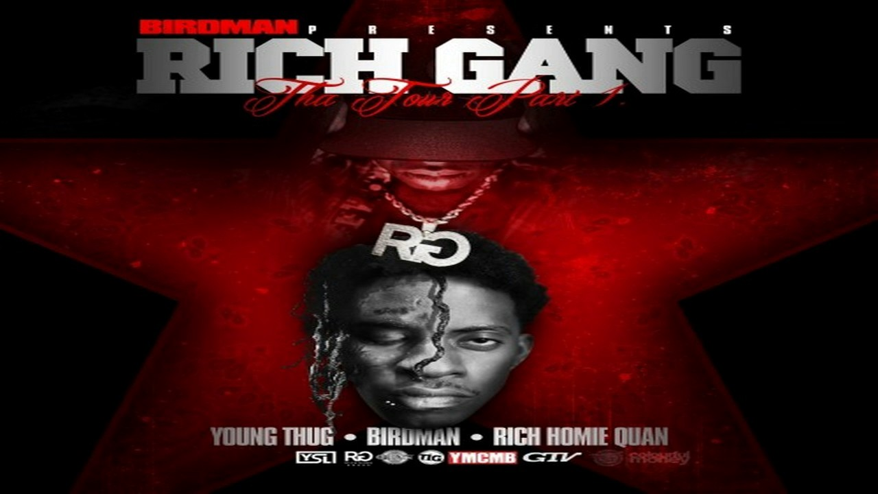 Rich gang tour 1 album