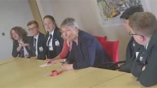 Stockport Academy Student Council Meet Ann Coffey MP