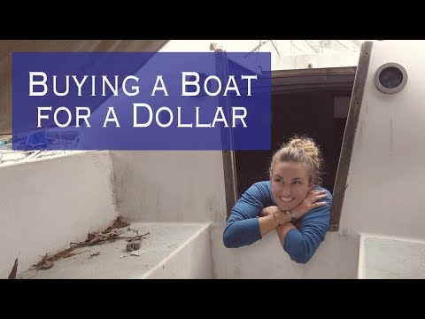 Buying a Boat for a DOLLAR doing a complete refit Sailing Miss Lone Star