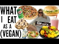 WHAT I EAT AS A FOOD VEGAN