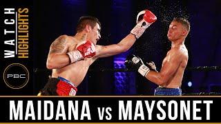 Maidana vs Maysonet HIGHLIGHTS: July 23, 2016 - PBC on NBCSN