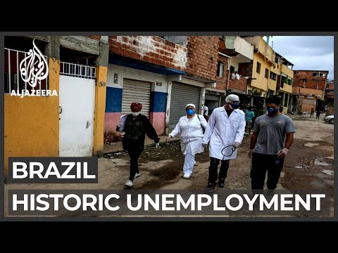 COVID-19 crisis crippling South America's largest economy