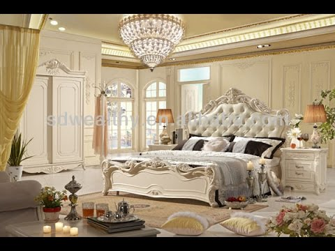 french style bedroom furniture - youtube