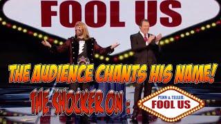 Magician Shocks Penn & Teller