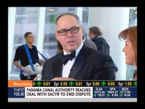 "Oscar Cocktails with Brian Van Flandern on Bloomberg TV's ""Market Maker's"""