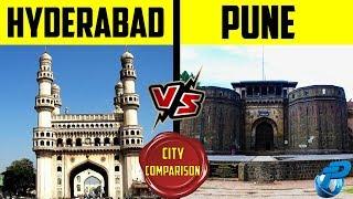 Placify: Hyderabad VS Pune | हैदराबाद VS पुणे | City Comparison 2020