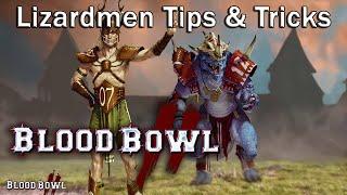 Lizardman Coaching : Starting Lineup, Tips & Tricks [Blood Bowl 2]
