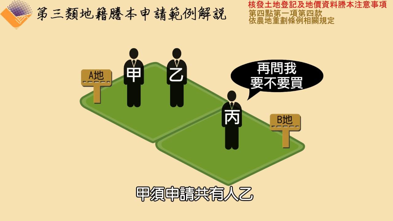 【第4點第1項第4款】依農地重劃條例(優先承買之通知)相關規定 - YouTube