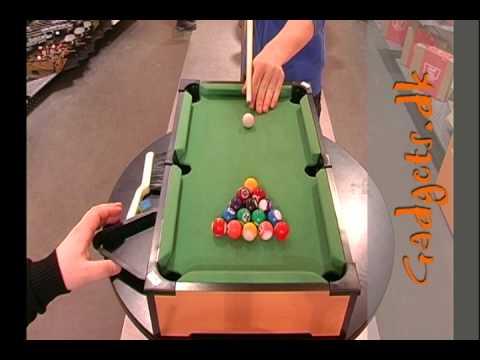 Frisk Mini Pool Bord - YouTube YL-31