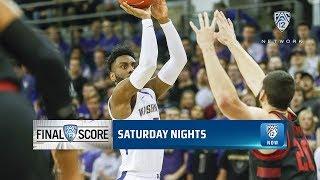 Highlights: Washington men's basketball continues to roll, bounces Stanford with balanced attack