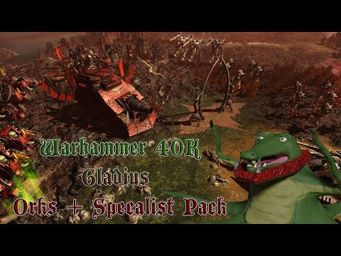 Warhammer 40,000 Gladius - Relics of War Orks + Specialists Pack  - Part 13   New Start! |