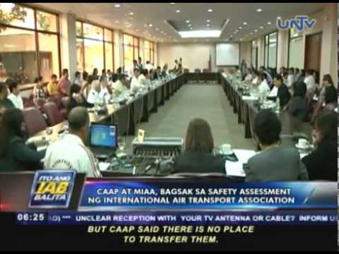 CAAP at MIAA, bagsak sa safety assessment ng International Air Transport Association