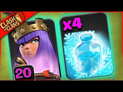 Thumbnail: WHAT HAPPENS WHEN YOU USE ONLY FREEZE in Clash of Clans?