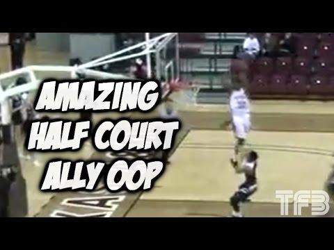 Senior, Antjuan Ball HEAD OVER THE RIM on Half-Court Ally OOP! #SCtop10