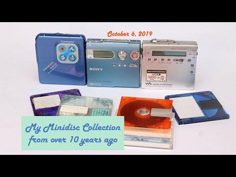 My Minidisc Recorders- Sony MZ-R900, MZ-N910; Panasonic SJ-MJ10 Player; & MD Discs
