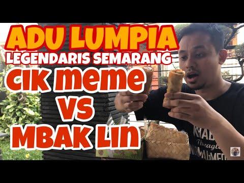 mukbang-lunpia-cik-meme-vs-lunpia-mbak-lien-|-lunpia-semarang-legendaris