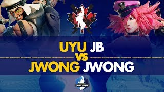 UYU JB (Rashid) VS JWONG Jwong (Poison) - Canada Cup 2019 L. Round of 12 - CPT 2019