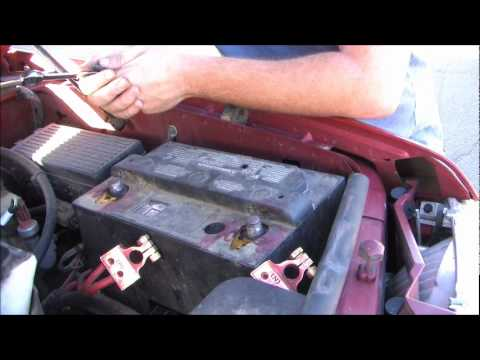 How To Replace Your Battery 2002 Ford Explorer