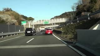 北九州都市高速道路 4号 上り・門司方面 等速 八幡IC→春日IC