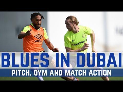 WORK WORK WORK! BLUES SWEAT IT OUT IN DUBAI