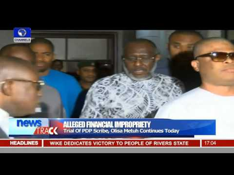Dasukigate: Witness Say Metuh Paid N70million For Image Making 28/01/16
