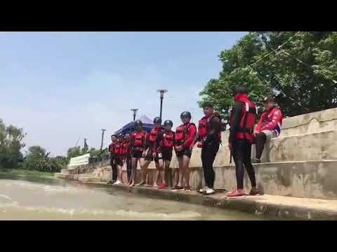 ฝึกกู้ภัยทางน้ำ!