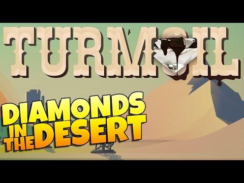 Turmoil Gameplay - Diamond Overload! Desert Gameplay (Let's Play Turmoil Part 4)