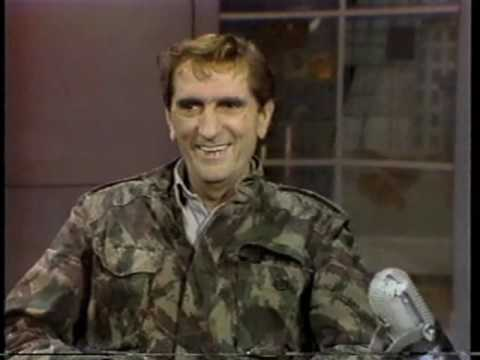 Harry Dean Stanton on Late Night, December 23, 1985