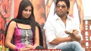 Varudu Success Meet - Allu Arjun, Bhanu Sri Mehra (Part 1)